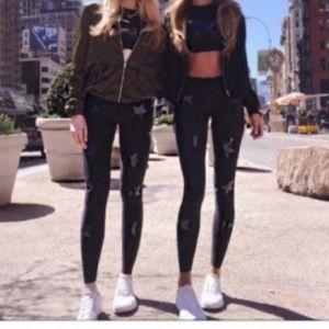 Jessica Simpson star leggings